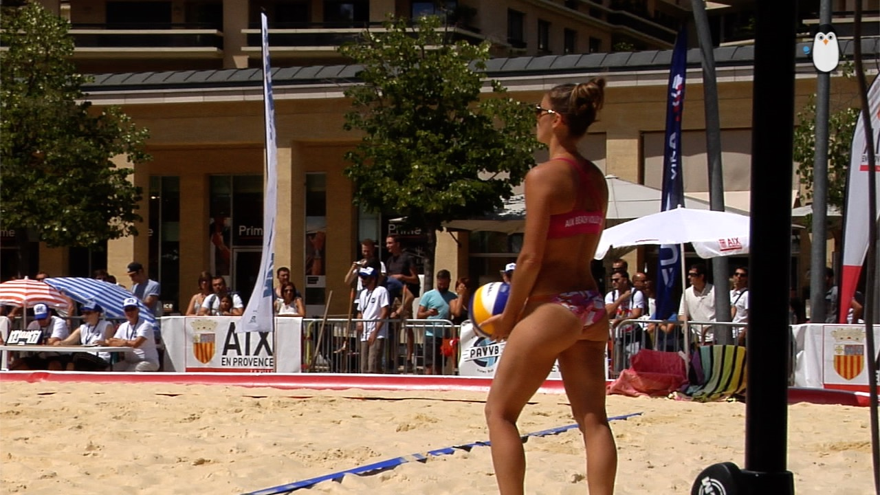 Du Beach Volley au coeur de la ville